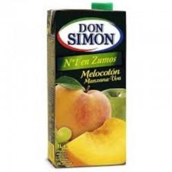 ZUMO MELOCOTON 1L DON SIMON