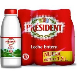 LECHE PRESIDENT ENTERA 1,5L C6