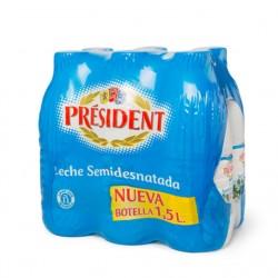 LECHE PRESIDENT SEMI 1,5L...