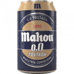 CERVEZA LATA MAHOU 0,0...